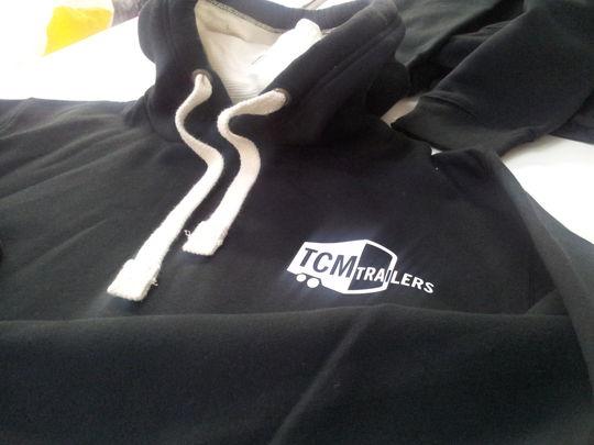 TCM Trailers premium hoodie